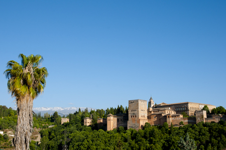 grenada: Alhambra - Granada - Spain Stock Photo