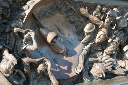 winston: Battle of Britain Memorial - London - UK Stock Photo