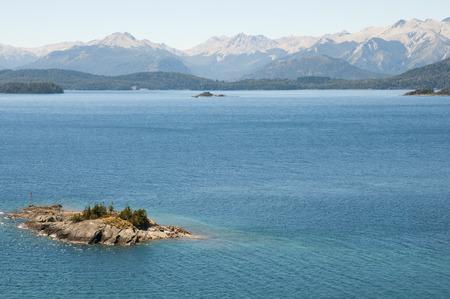 bariloche: Nahuel Huapi Lake - Bariloche - Argentina Stock Photo