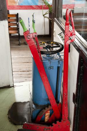 Funicular Controls - Valparaiso - Chile