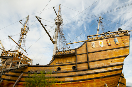 Magellan Replica Ship - Punta Arenas - Chile