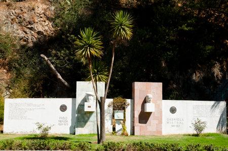 Pablo Neruda & Gabriela Mistral Monuments - Vina Del Mar - Chile