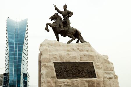 Damdin Sukhbaatar의 동상 - 울란바토르 - 몽골