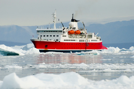 Expedition Ship - Scoresby Sound - Greenland