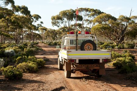 Off Road Track in the Outback