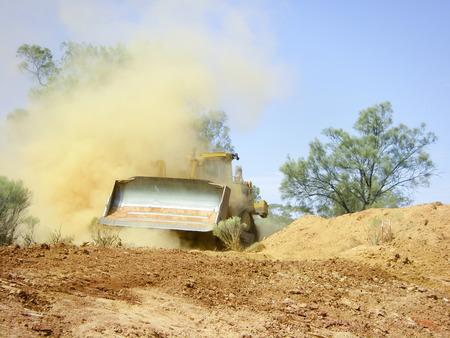 Bulldozer Earthworks