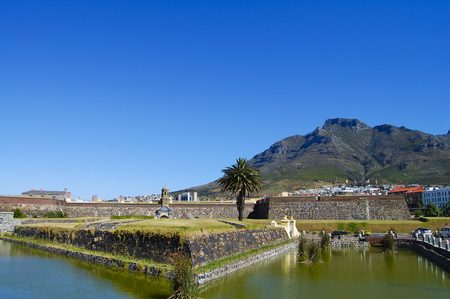 Castle of Good Hope Outer Walls - Cape Town - South Africa
