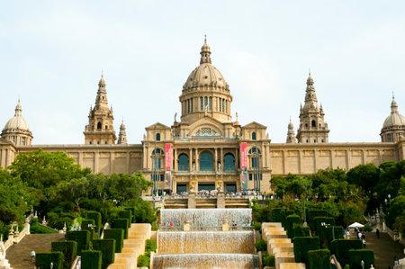 カタロニア - バルセロナ - スペインの国立美術館
