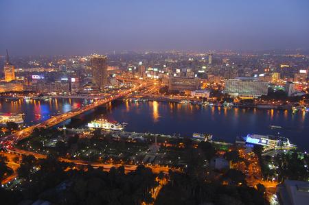 Cairo at Night - Egypt
