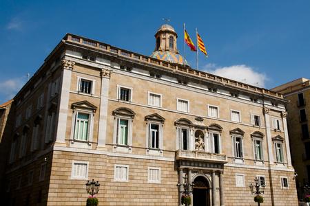 Catalonia Government Palace - Barcelona - Spain