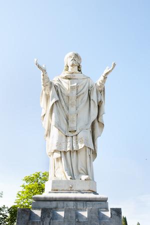 Saint Martin Statue - Lourdes - France