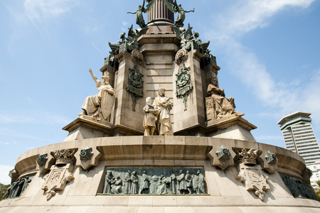 Columbus Monument - Barcelona - Spain