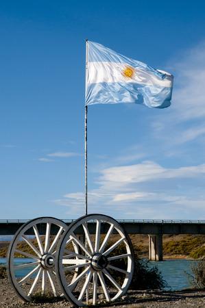calafate: Argentina Flag