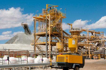 鉱業プロセスプラント 写真素材 - 92506893