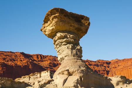 The Mushroom - Ischigualasto Provincial Park - Argentina Stock Photo