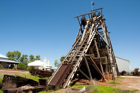 Historic Gwalia Headframe - Leonora - Australia