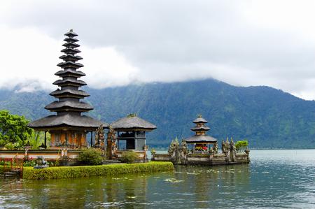 Temple of Pura Ulun Danu Bratan - Bali - Indonesia Stock Photo