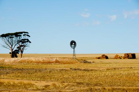 Harvested Wheat Fields - Australia