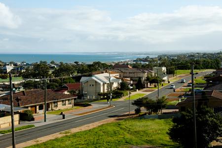 Coastal Residential Houses - Geraldton - Australia Stock Photo
