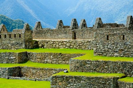 Old Machu Picchu Ruins - Peru 版權商用圖片 - 109613018