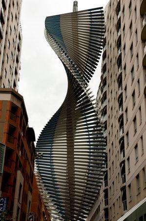 SYDNEY, AUSTRALIA - April 4, 2018: Australian Chinese Ex-Services Monument Sajtókép