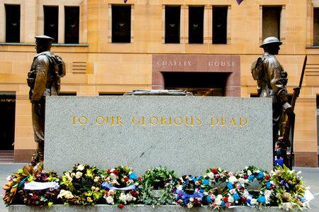 SYDNEY, AUSTRALIA - April 4, 2018: Sydney Cenotaph of World War I