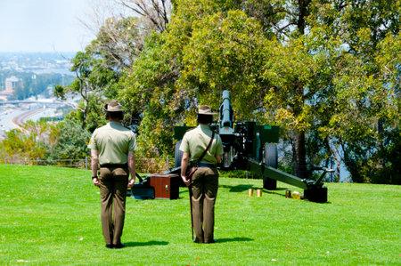 Remembrance Day Gun Salute