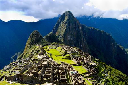 Ruinas incas de Machu Picchu - Perú