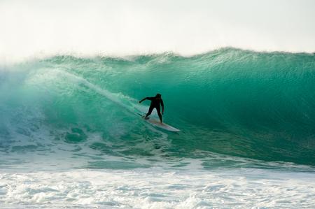 Surfer in the Ocean - Western Australia