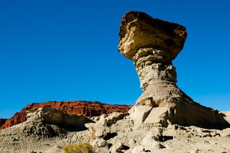 The Mushroom - Ischigualasto Provincial Park - Argentina 写真素材