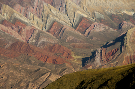Serrania del Hornocal - Jujuy - Argentina 写真素材