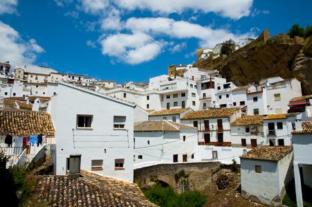Setenil de las Bodegas - Spain 스톡 콘텐츠