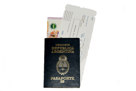 Argentina Passport & Boarding Pass