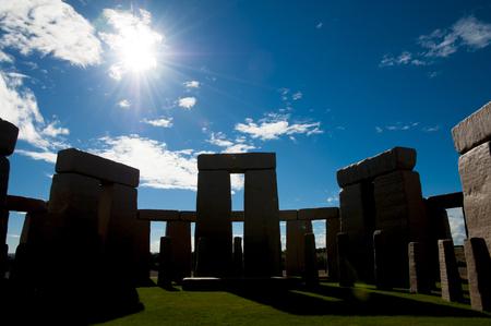 Stonehenge Replica - Esperance - Australia Reklamní fotografie