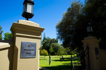 Government House Gates - Perth - Australia 版權商用圖片