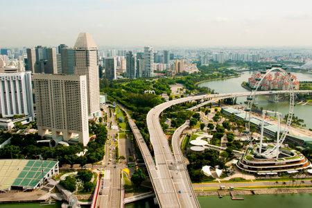 Esplanade Bridge - Singapore City