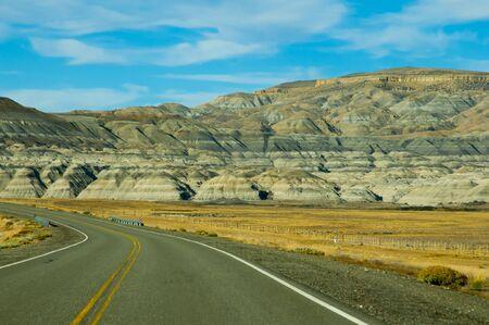 Highway 40 - Patagonia - Argentina 版權商用圖片