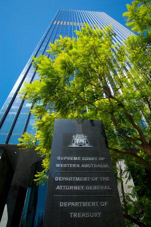 PERTH, AUSTRALIA - March 13, 2019: The Supreme Court of Western Australia