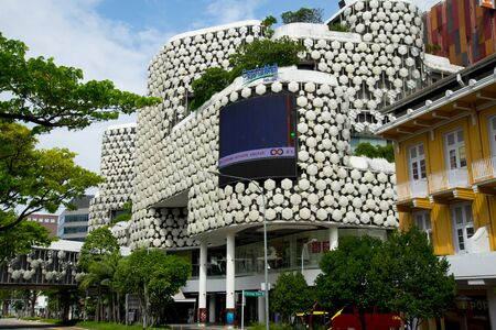 SINGAPORE CITY, SINGAPORE - April 14, 2019: CapitaMall Trust building on Victoria Street