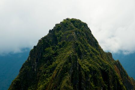 Mountain of Huayna Picchu - Peru 写真素材