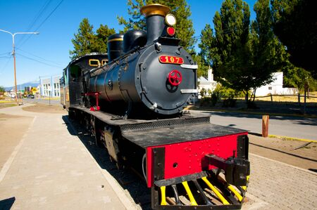Old Patagonian Express Locomotive - Argentina