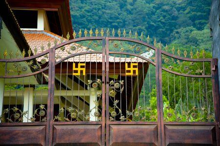 Gate to Ulan Danu Buyan Temple - Bali - Indonesia