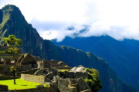 Machu Picchu Inca Ruins - Peru