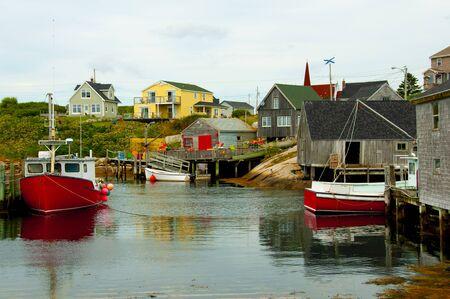 Peggys Cove - Nova Scotia - Canada Stock Photo