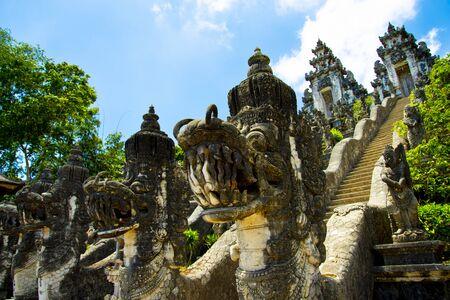 Paduraksa Portals of Pura Penataran Agung Lempuyang - Bali - Indonesia 写真素材