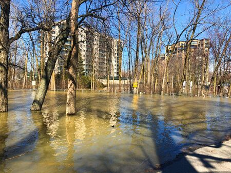Suburbans Flood - Montreal - Canada