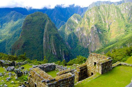 Machu Picchu Inca Ruins - Peru 写真素材 - 133162508