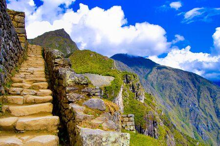 Machu Picchu Inca Ruins - Peru 写真素材 - 133162511