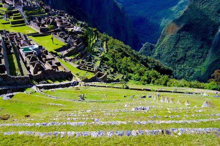 Machu Picchu Inca Ruins - Peru 写真素材 - 133162513