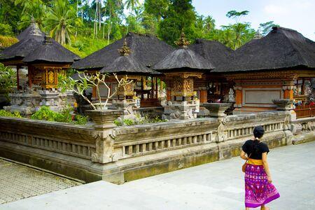 Tirta Empul Temple - Bali - Indonesia 写真素材 - 133162546